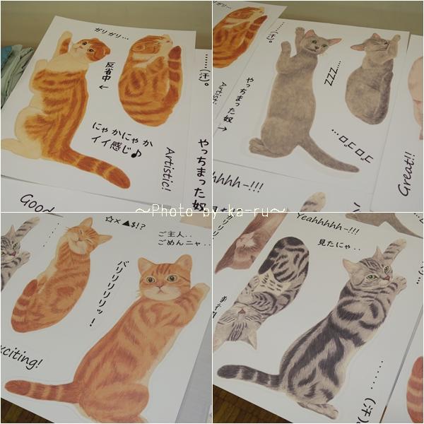 猫のウォールシールの会_k2