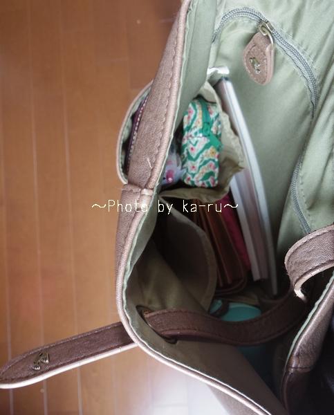 フェリシモ 斜めがけ整とんバッグの会_k16