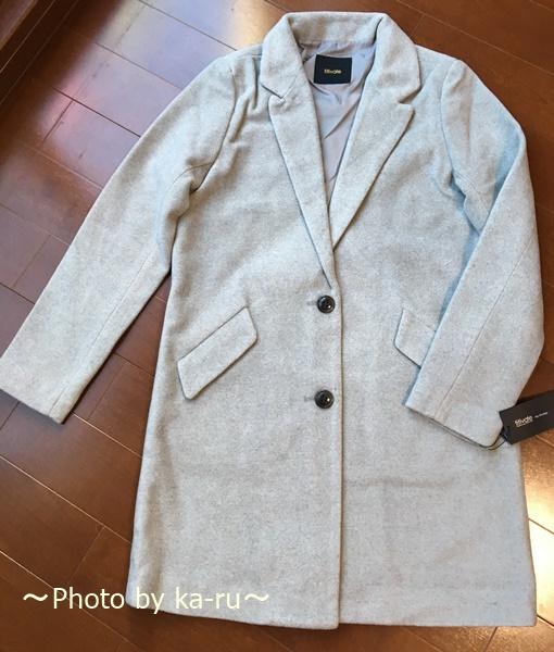 titivate「84cm丈チェスターコート」を着た感想