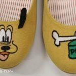 かわいい!刺繍フラットパンプス(ディズニー) ベルメゾン