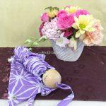 【日比谷花壇】敬老の日に「軽量折畳傘」とアレンジメントをプレゼント
