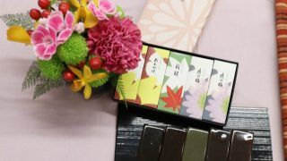 敬老の日のプレゼントは虎屋「羊羹」と日比谷花壇のアレンジメント