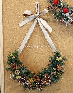 日比谷花壇クリスマスハーフリース「ホーリームーン」