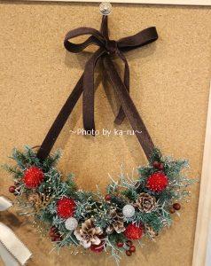 日比谷花壇クリスマスハーフリース「ハッピームーン」