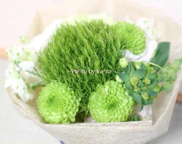 日比谷花壇のお葬式勉強会_ミニブーケ