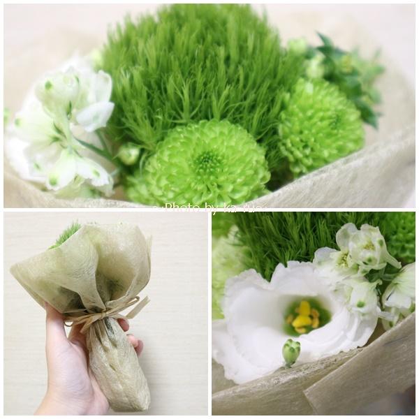 日比谷花壇のお葬式勉強会_ミニブーケ2