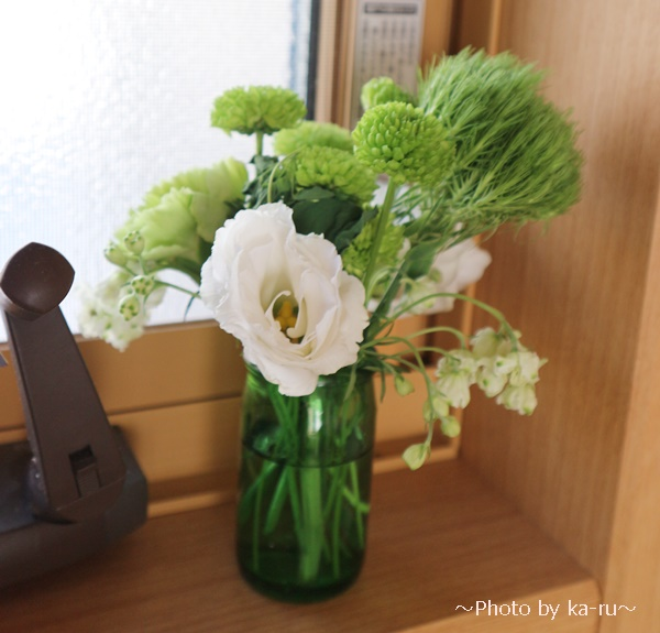 日比谷花壇のお葬式勉強会_ミニブーケ3