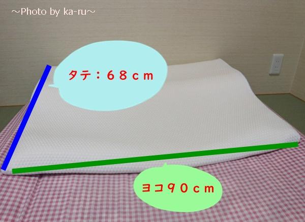 ショップジャパン「トゥルースリーパー セブンスピロー」レビュー_シングルサイズ