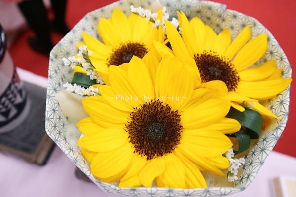 日比谷花壇「父の日」グルメセット_お花「花束」