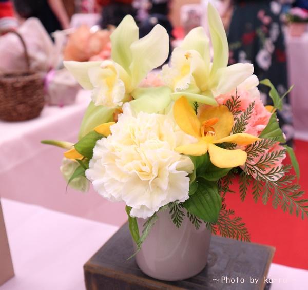 日比谷花壇「父の日」グルメセット_お花「フラワーアレンジメント」