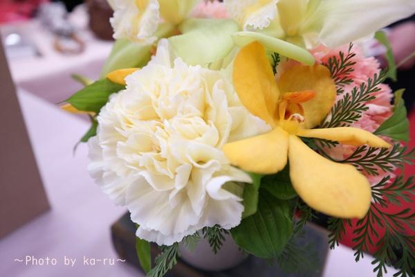 日比谷花壇「父の日」グルメセット_お花「フラワーアレンジメント」2