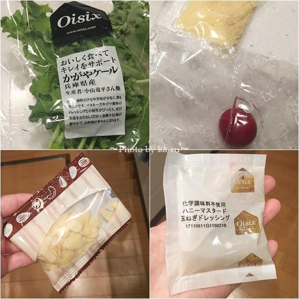 Oisix(オイシックス)のお試し_たっぷりケールのチーズナッツサラダ(Kit)2