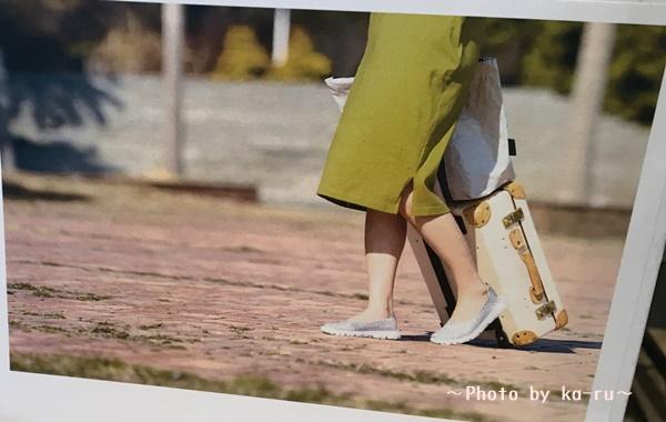 フェリシモ「リブ イン コンフォート 驚きの軽さ! 足に心地よくフィットするゴムメッシュシューズ」_1