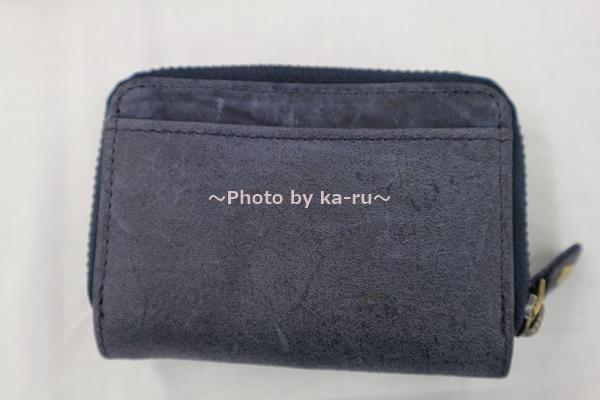 ミニレザーウォレット 本革ミニ財布 三つ折りコンパクト カード