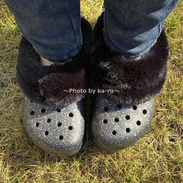 クラシック マンモス ラックス ラディアント クロッグ 履いてみた 靴下