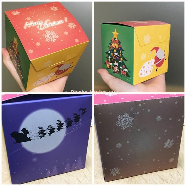 ホワイエ楽天市場店 クリスマス ボックス デザイン