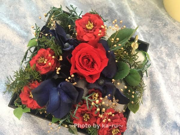 日比谷花壇「映画・美女と野獣」 赤いバラ