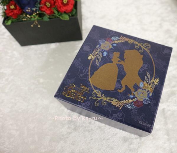 日比谷花壇「映画・美女と野獣」 オリジナルデザインボックス