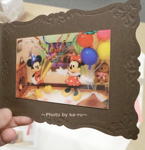 ディズニー ミッキー&ミニー3Dカード