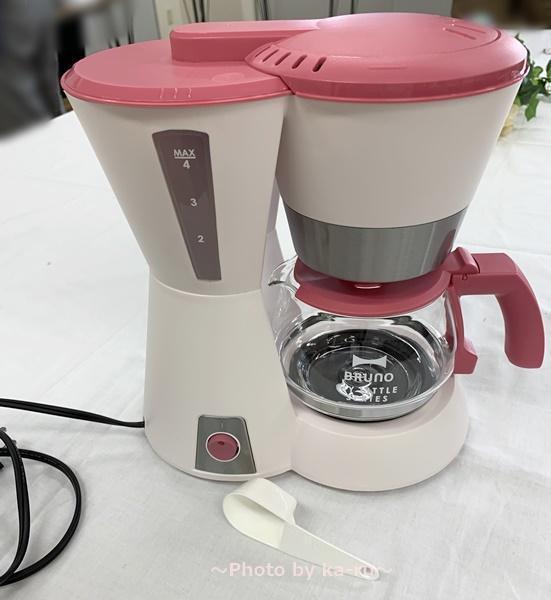 BRUNO(ブルーノ)4カップコーヒーメーカー