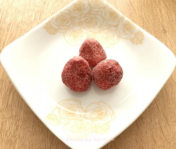 えびせん家族 福味(フクミ)_フリーズドライの「イチゴ」2