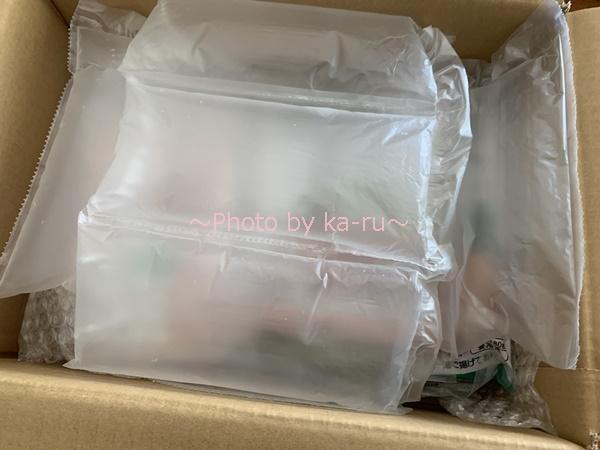 秋川牧園のお試しセット「冷凍セット」_梱包
