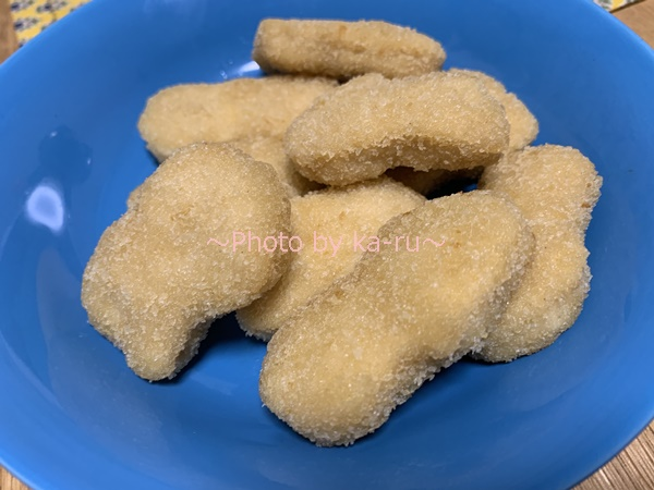 秋川牧園のお試しセット「冷凍セット」_こだわりのチキンナゲット食べた感想