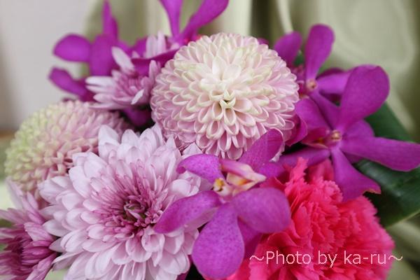 アレンジメント「花てまり」_マムの種類