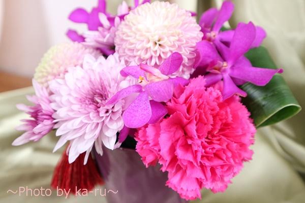 アレンジメント「花てまり」_使われているお花