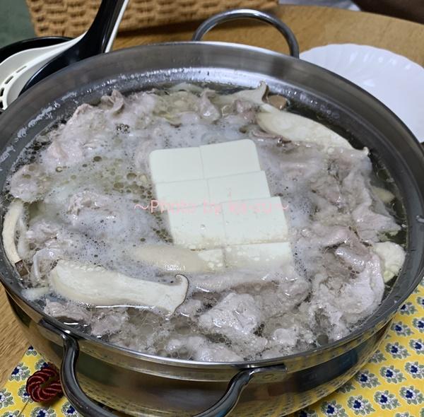 水炊きの鍋