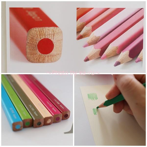 フェリシモ500色の色えんぴつ TOKYO SEEDS_リニューアル 形が四角