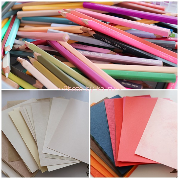 フェリシモ500色の色えんぴつ TOKYO SEEDS_色えんぴつ 紙