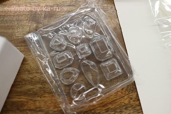 日比谷花壇手作りキット「UVレジンのフラワーアクセサリー」_シリコンモールド