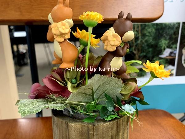 日比谷花壇フラワーギフトチップとデール_チップとデール立体的後ろ