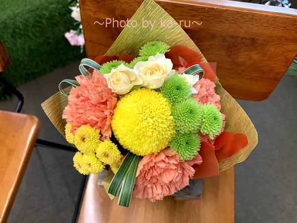 日比谷花壇 敬老の日そのまま飾れるブーケのセット_全体