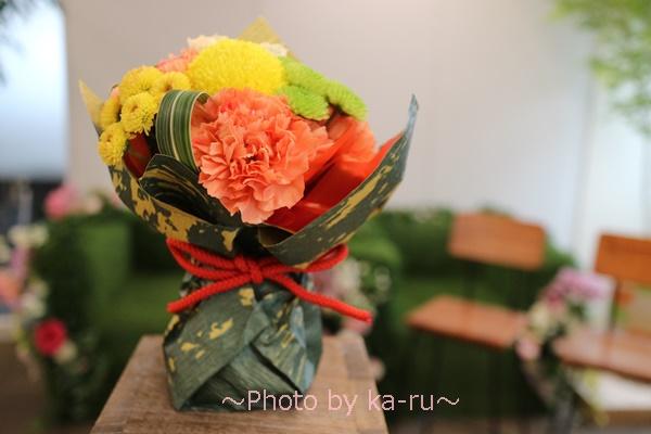 日比谷花壇 敬老の日そのまま飾れるブーケのセット_1