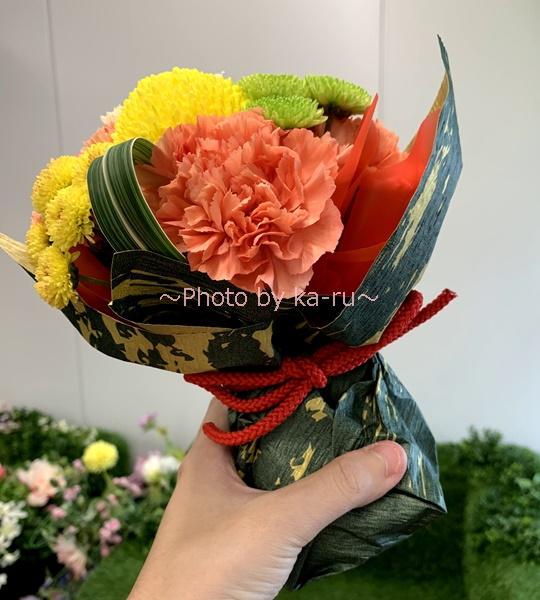 日比谷花壇 敬老の日そのまま飾れるブーケのセット_カップ