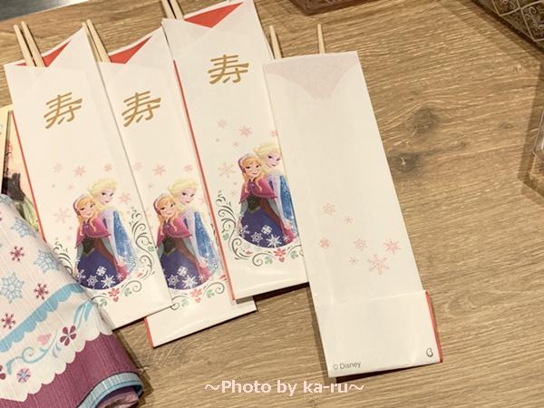 おせち・三段重<アナと雪の女王>_祝い箸(5膳)