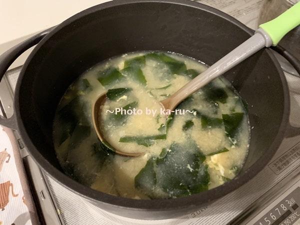 UNILLOY(ユニロイ)」ホーロー鍋_みそ汁