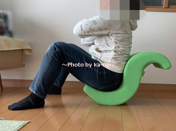 ショップジャパン「ゆらころん」_正しい座り方