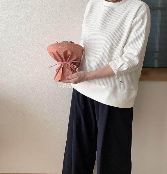 母の日2020日比谷花壇「そのまま飾れるブーケ」_大きさ