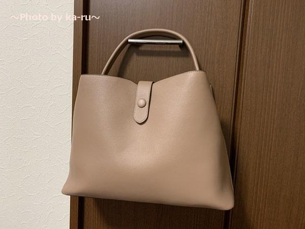 香村薫さんとフェリシモコラボ「ワンショルダー2-WAYバッグ」 正面