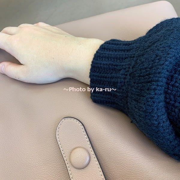 香村薫さんとフェリシモコラボ「ワンショルダー2-WAYバッグ」 使ってみての手触り