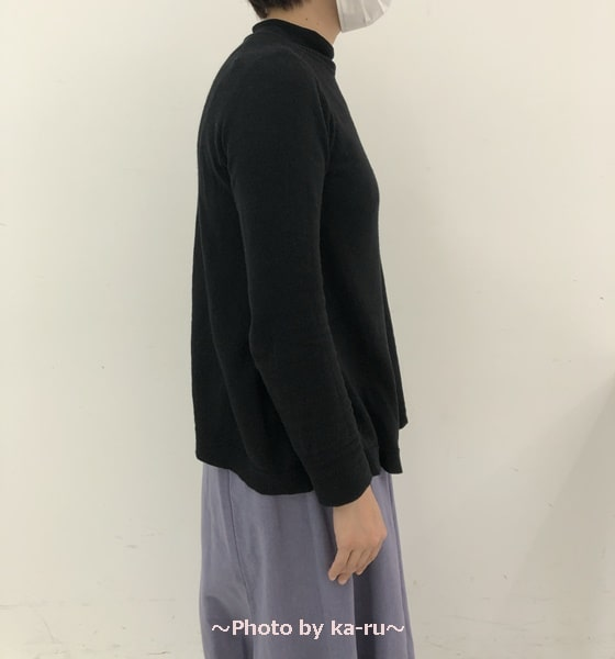 フェリシモ「ヨガ気分」たすきストラップバンド 服の下