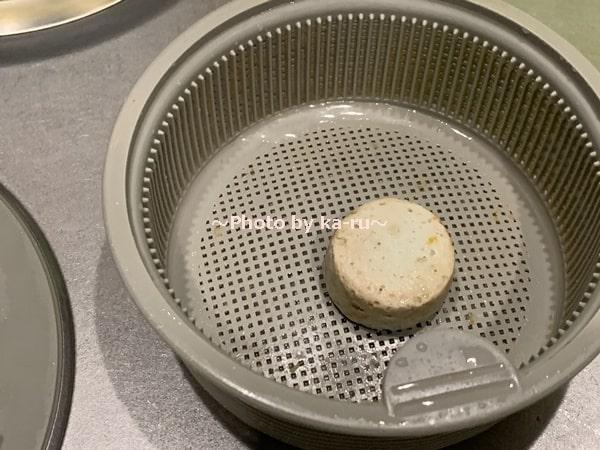 フェリシモ「排水口タブレット」24日経過