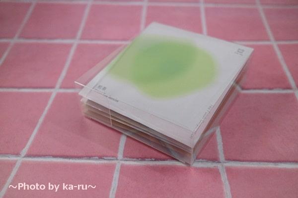 日本茶のドリップバッグ「Drip Tea」_透明なケース