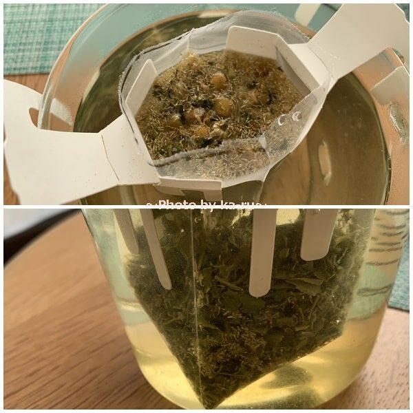 日本茶のドリップバッグ「Drip Tea」煎茶&カモミール香りを楽しむ
