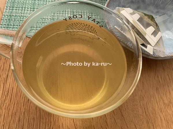 日本茶のドリップバッグ「Drip Tea」煎茶&カモミールできあがり