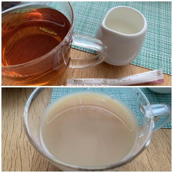 日本茶のドリップバッグ「Drip Tea」紅茶にミルクとシュガー
