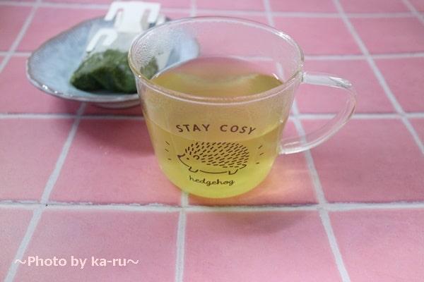 日本茶のドリップバッグ「Drip Tea」煎茶できあがり